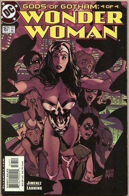 Wonder Woman (Vol. 2) #167 - NM- - Adam Hughes Cover Art