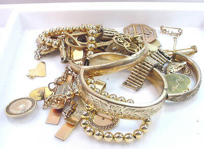 Gold Filled Scrap Lot For Gold Recovery 250 .0 Grams  No Reserve Very Clean Nice