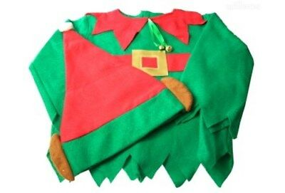 Little Elf Kids Dress Up Costume - Great for Fancy Christmas Photos Plays Party
