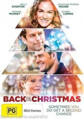BACK TO CHRISTMAS DVD [New/Sealed]