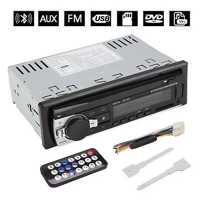 MP3 Player Auto Radio USB/SD Bluetooth FM Stereo AUX-IN Player LCD WMA DVD/CD