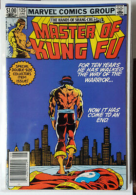 Master Of Kung-Fu # 125, (Last Issue  / Fn- / Fn / Marvel Comics / 1983)