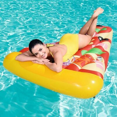 Bestway Inflatable Pool Lilo - Adults Pizza Slice Party Lounger Float