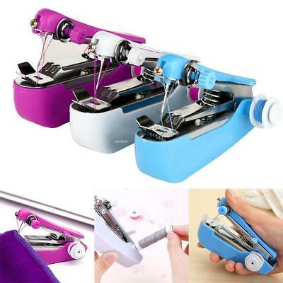 New Stitch Travel Household Electric Portable Mini Handheld Sewing Machine EA 01