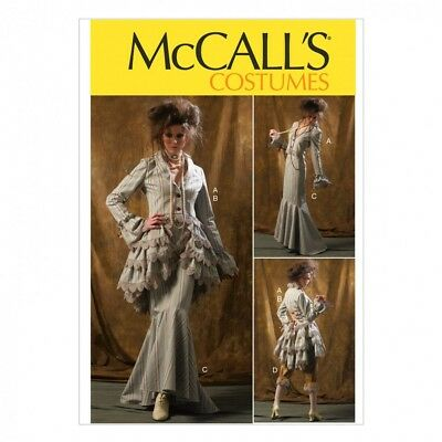 Free UK P&P - McCalls Ladies Sewing Pattern 6770 Vintage Style Jacket, Bu...