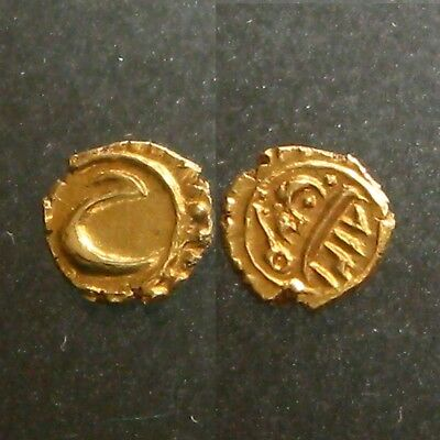 GOLD FANAM  OF TIPU SULTAN_____Tiger of Mysore_____MINTED IN THE 1700's