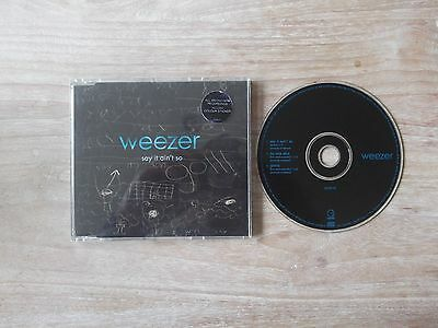 WEEZER Say It Ain't So CD 3 Track Remix B/W No One Else And Jamie**FREE POST