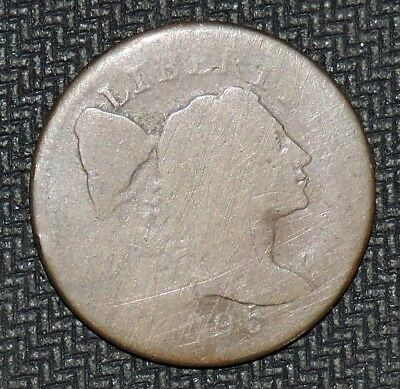1795 Liberty Cap Large Cent Fair
