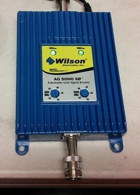 weboost amplifier signal booster**Amplifier Only**AG SOHO 60 *SOLD AS IS* (YD10)