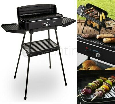 Livivo Electric Bbq Barbecue Grill Non Stick Indoor Outdoor Stand Garden 2200W