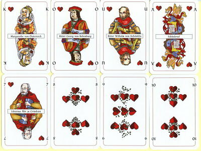 Spielkarten playing cards Sonderbild Jeu de cartes Altenburg Prinzenraub 2010