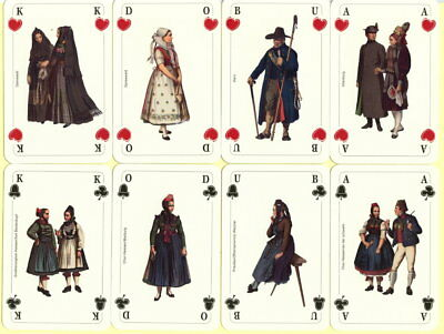 Spielkarten playing cards Sonderbild Jeu de cartes Altenburg Trachtenfest um2005