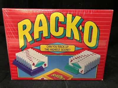 New Sealed Racko Card Game 50th Anniversary Parker Brothers 2006