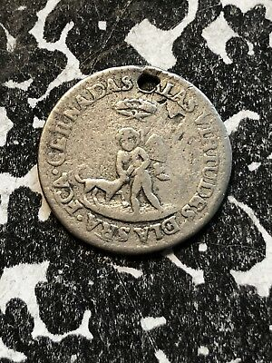 1835 Bolivia Proclamation Coinage Medal 1/2 Sol Silver! Lot#P004 BRN#13a