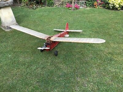 ED Radio Queen rc model aeroplane with Compertion engine