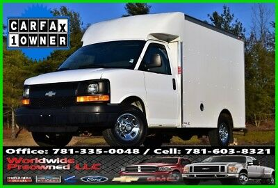 Chevrolet Express Chevrolet Express Cutaway Enclosed Box Truck Chevy GMC Service 2013 Chevrolet Express Cutaway Enclosed Box Van Truck 4.8L Gas Chevy GMC Used