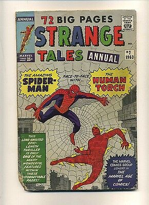 Strange Tales Annual #2 (FR-) Marvel Comics 1963 KIRBY DITKO Silver Age (c#09191