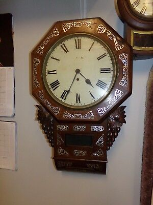 fusee rosewood wall clock for restoration