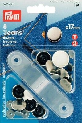 311531-M Prym Extender Flexi Buttons with Loop per pack of 3
