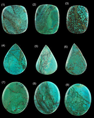 100% Natural Turquoise Gemstones from Tibbet ~ Huge Size ~ 35  cts to 59 cts ~