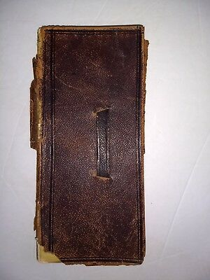 HANDWRITTEN DIARY-MIDWEST IRON FOUNDRY-Melting Factory-Forge-JANESVILLE WI-1866