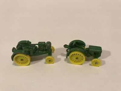"JOHN DEERE Model D Tractor 2"" & Waterloo Tractor 2-1/4"""