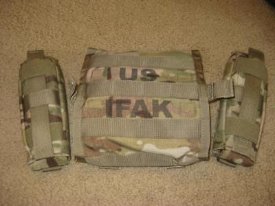 Multicam Ifak Ii New Improved Soldiers First Aid Kit New