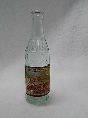 Scarce 1940's Soda Bottle Harold Teen Highball Paper Label Comic Strip Character