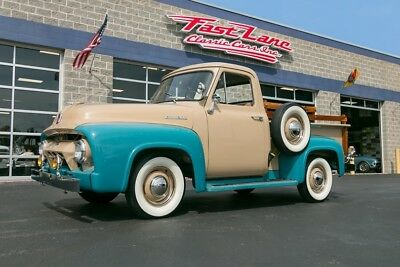Ford F-100 Ask About Free Shipping! 1954 Ford F100 Restored Frame Off Custom Pickup