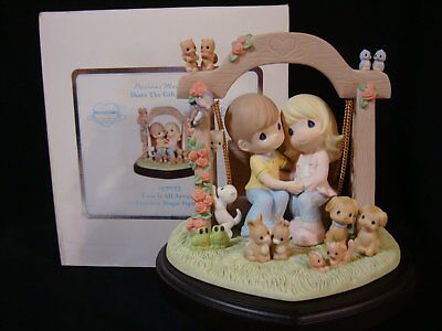 """Precious Moment *SIGNED BY HIKO* Singapore Thots Exclusive LE 2,000 """"USA SELLER"""""""