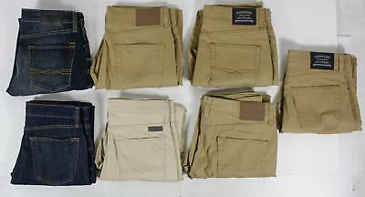 Levi's Select Lot of 7 Pair Mens Pants Khaki Blue Casual And Jeans