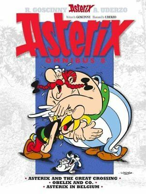 Asterix: Omnibus 8 Asterix and the Great Crossing, Obelix and C... 9781444008388