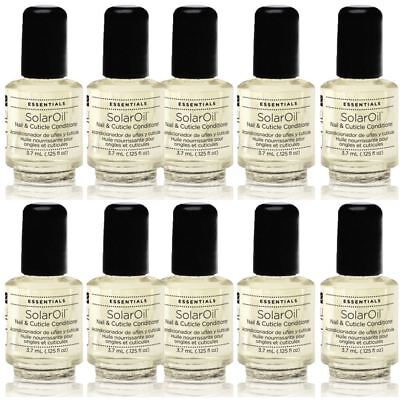 10 x CND Solar Oil Nail Cuticle Conditioner 3.7 ml Bottle POCKET SIZE