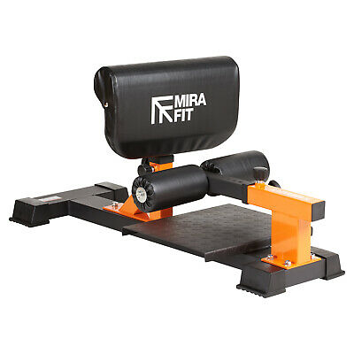 Mirafit Adjustable Sissy Squat Bench Stand Quad/Core Strength Fitness Training