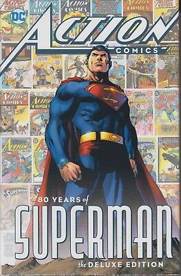 Action Comics 80 Years of Superman Deluxe Edition hardcover DC Comics