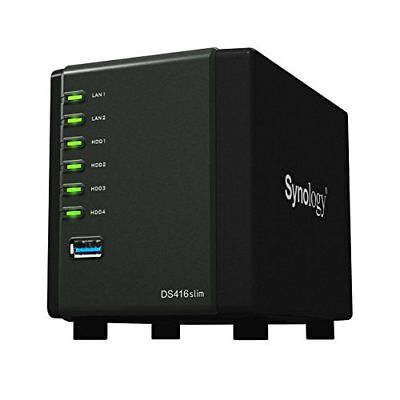 Synology America Corp. Ds416Slim Synology Nas Diskstation (Diskless)