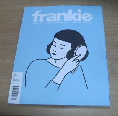 Frankie magazine #82 2018 Boozing Science, Tuning Out, Kitty Daisy & Lewis