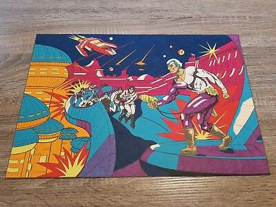 Vintage Hobbytex Pre-shaded Picture Sci-fi Super Hero Themed USED