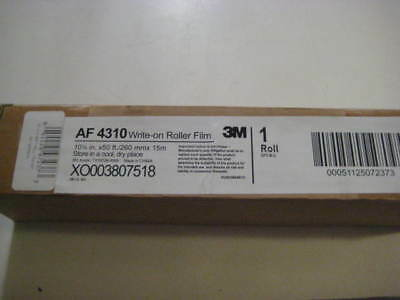 New 3M Af-4310 Write On Roll Transparancy Film For Overheat Projector 50'