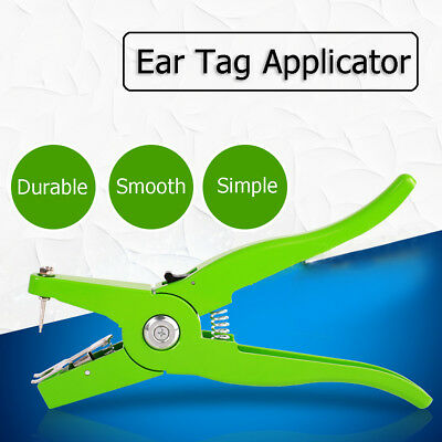 Multi Ear Marking Puncher Tagger Applicator Plier Veterinary Tool for Cow Sheep
