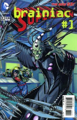 Superman 23.2 Brainiac 3D Motion Cover 1St Print Vf/nm