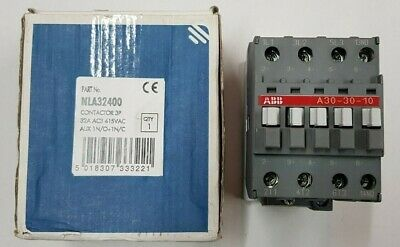 Newlec Type B Electrical Contactor Relay Switch 3p 32A AC3 NLA32400 3phase