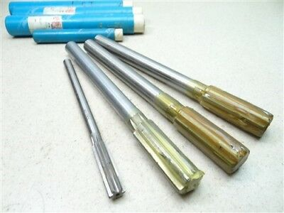 """New Lot Of 4 Carbide Tipped Chucking Reamers 1/2"""", .9090"""", .9410"""" & 1"""" Trw"""