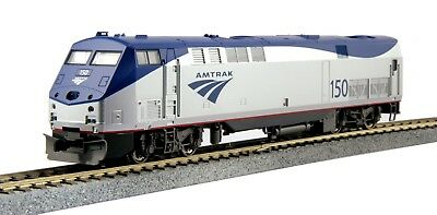 HO Scale - KATO 37-6109 AMTRAK Phase Vb GE P42 # 150 with Ditch Lights DC Analog
