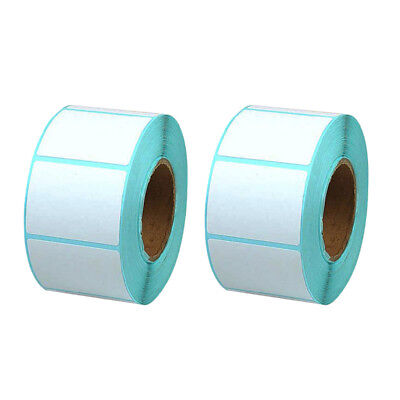 400Pieces 40x30mm Blank White Thermal Labels Roll Self Adhensive Sticker