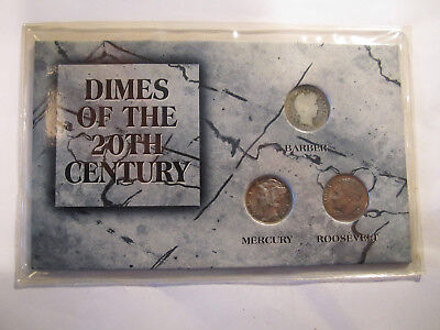 dimes of the 20th century AS SHOWN *2807