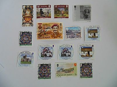 L1480 - Collection Of Isle Of Man Stamps