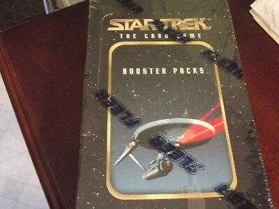 Fleer Star Trek The Card Game 1 box Of Booster packs