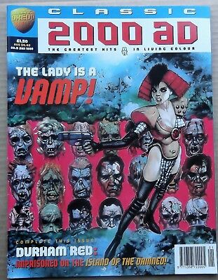 Rare Classic 2000 Ad Magazines  Issue 5 Comic Jan 1996 Mint Condition