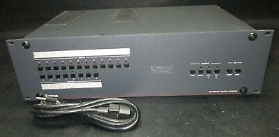 EXTRON Crosspoint Series Switcher Rackmount w/ Power Cable